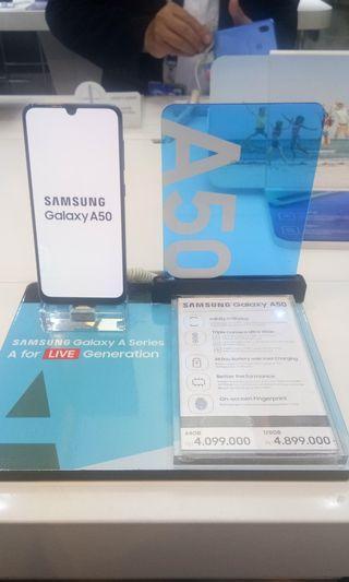 Samsung A50 4/64 cicilan bunga 0%