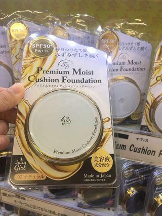 TIARA GIRL Premium Moist Cushion Foundation