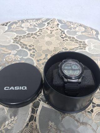 (ORIGINAL ) Jam Tangan Casio AE-1000W stainless steel black