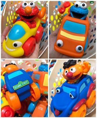 sesame street 芝麻街車仔玩具 BB toy baby toys car