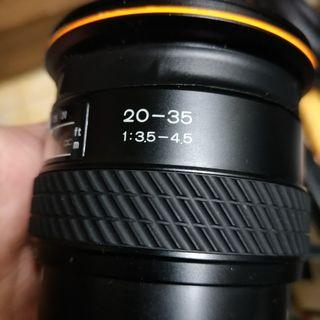 🚚 Tokina 20 35mm 20mm af for sony a 鏡頭 超廣角 含前後蓋 九成新