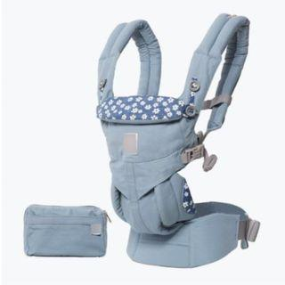 [Newborn Ready] Limited Edition OEM Omni 360 Baby Carrier Blue Daisies Ergo