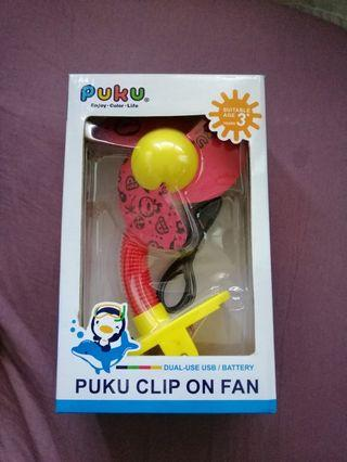 # blessing: Puku Clip On Fan