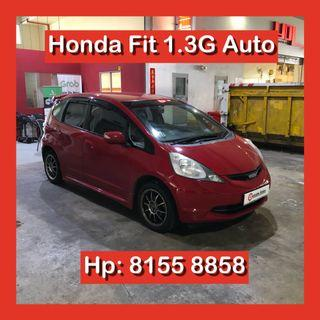 Honda Fit 1.3 Auto Grab Car Go Jek Rental
