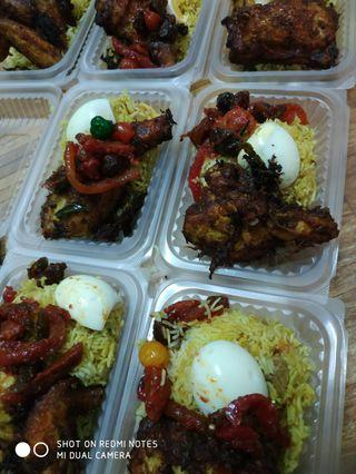 Nasi briayani Ayam Rempah