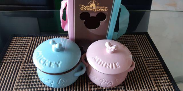 Mickey and Minnie Casserole set