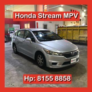 Honda Stream 1.8 Auto Grab Car Rental Go Jek Rental