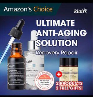[Ready Stocks] - Klairs Recovery Duo with Free 2 Klairs Sample size toner