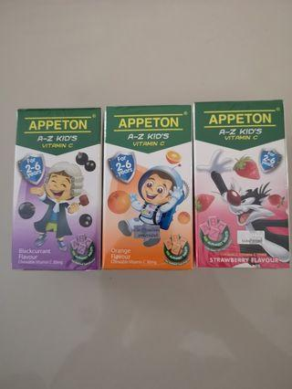 New and sealed Appeton kid's Vit C for 2~6