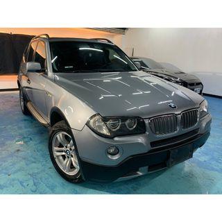 總代理正2008年出廠BMW X3 3.0SI     不騙你只賣49.8萬