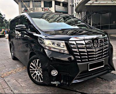 TOYOTA ALPHARD EXECUTIVE 2017