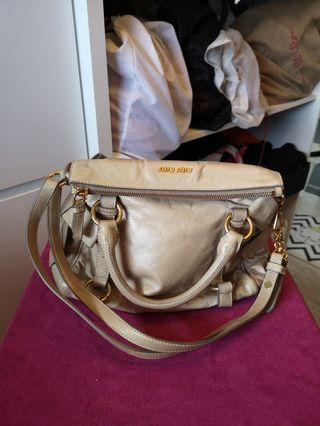 496e880fbc68 Miu Miu Vitello Lux Handbag
