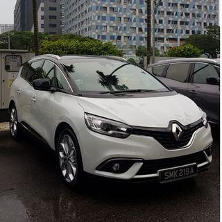 Phv Brand New Renault Grand Scenic Diesel For rent