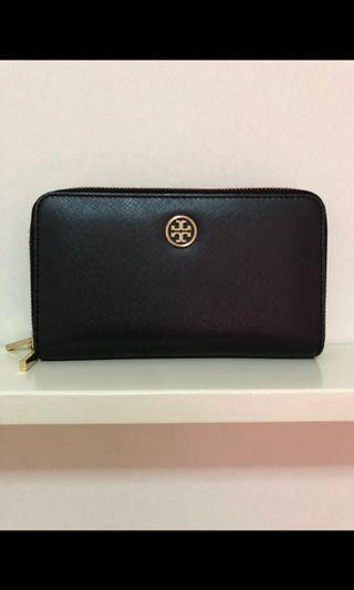 Authentic Tory Burch Double Zipper