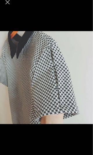 🚚 Zara 千鳥格小洋裝