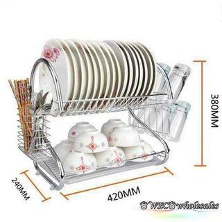 2 Layer Dish Organizer