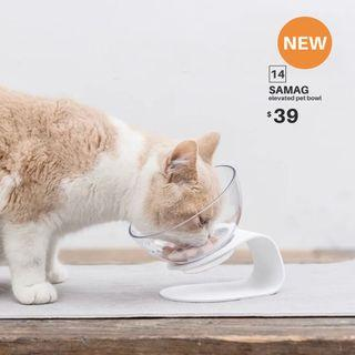 【BRAND NEW/SELLING FAST】SAMAG elevated pet bowl