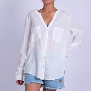 MANGO Basic Blouse