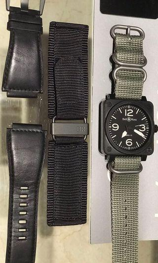 Bell and Ross BR01-92 Carbon