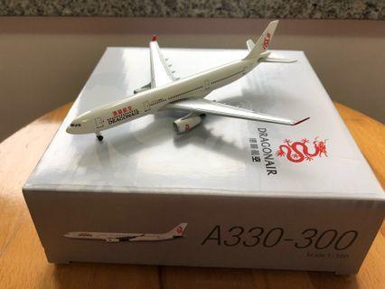 飛機模型 - 港龍航空 Dragonair 1:500 A330-300