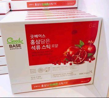 韓國正官庄濃縮紅石榴口服液 30包/1盒