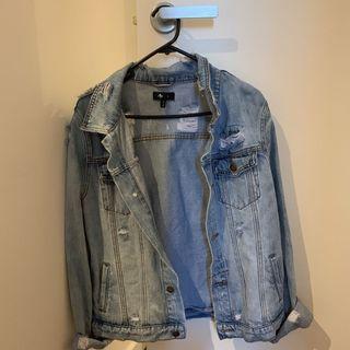 (AU 6)Thrills denim jacket