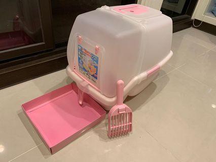 🚚 IRIS 真品 SSN530 九成新+粉紅維多利亞秘密配色防砂盒