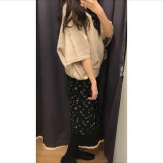 🚚 日本品牌Nice claup短袖率性歐美風飛鼠袖毛衣