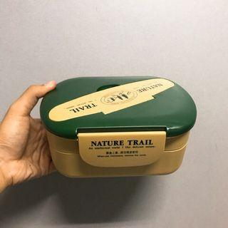 🚚 Nature Trail雙層抗菌便當盒(綠)