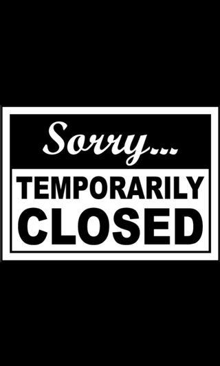 Going overseas - temporarily close