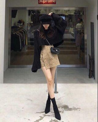 🚚 現貨賠本💔豹紋褲裙250