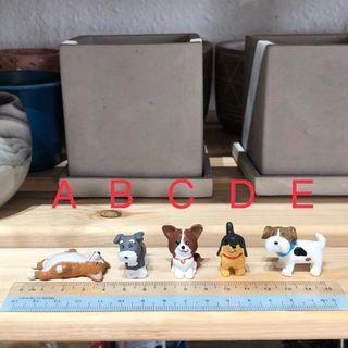 Terrarium Figurines - Puppies