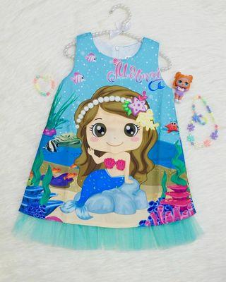 Cute Mermaid Dress Instock