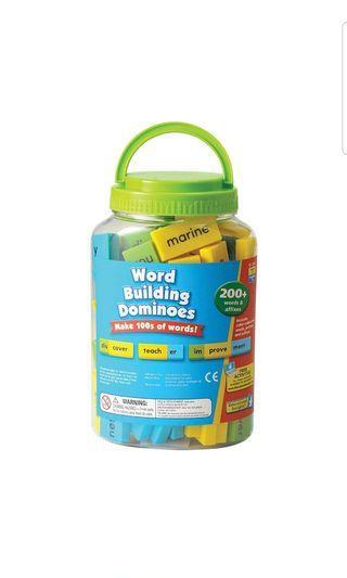 🚚 Educational Insights Word Building Dominoes