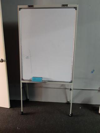 White board flip