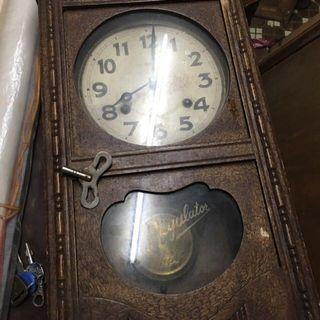 早期 日制 發條時鐘
