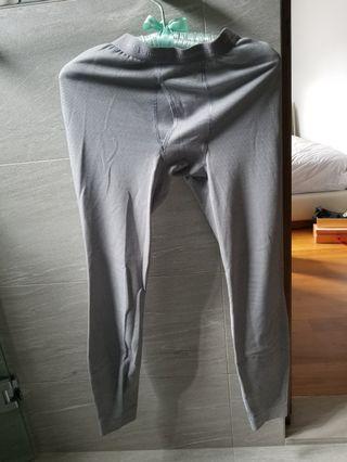 Patagonia men's capilene lightweight bottoms grey small