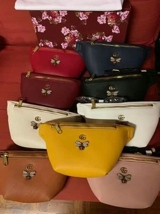 2a97c10587c w Box CLEARANCE SALE Bee Design Gucci Belt Bag Gucci Bum Bag Gucci Side Bag