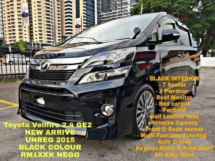 Toyota Vellfire 2.4 GE2 (2015)