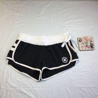 1dacc19c40 New Hurley Black White Board Shorts Swim Trunks W 26 L 7.5