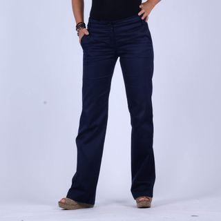 MANGO Navy basic pants