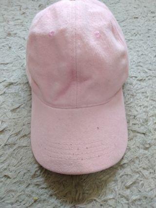 Topi basic (pink)
