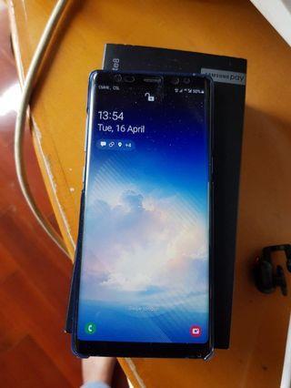 Samsung Galaxy note 8 128gb duos, deep sea blue