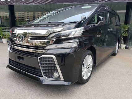 Toyota Vellfire 2.5 ZA (2016)
