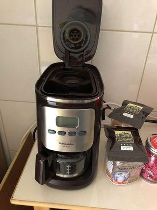 🚚 Panasonic NC-R600全自動研磨咖啡機,使用1年9成新,約4千購入