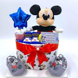 Ready stock! Mickey Mouse Baby Diapers Cake
