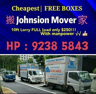 Cheapest price mover service in SG , WHATSAPP 92385843 JohnsionMover