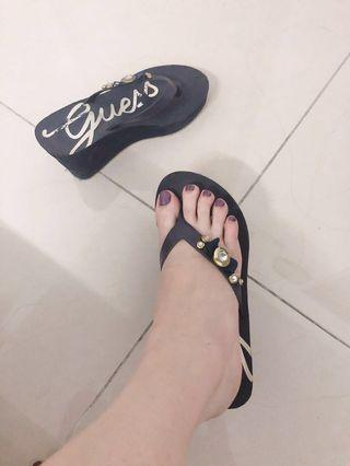 Guess sandals wedges