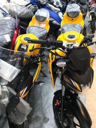 GSX150S-GSX150R2部黃色現車可交