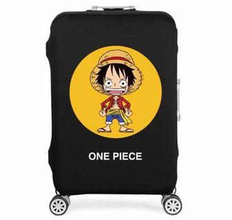 Luffy Cute - One Piece Luggage Cover / Protector